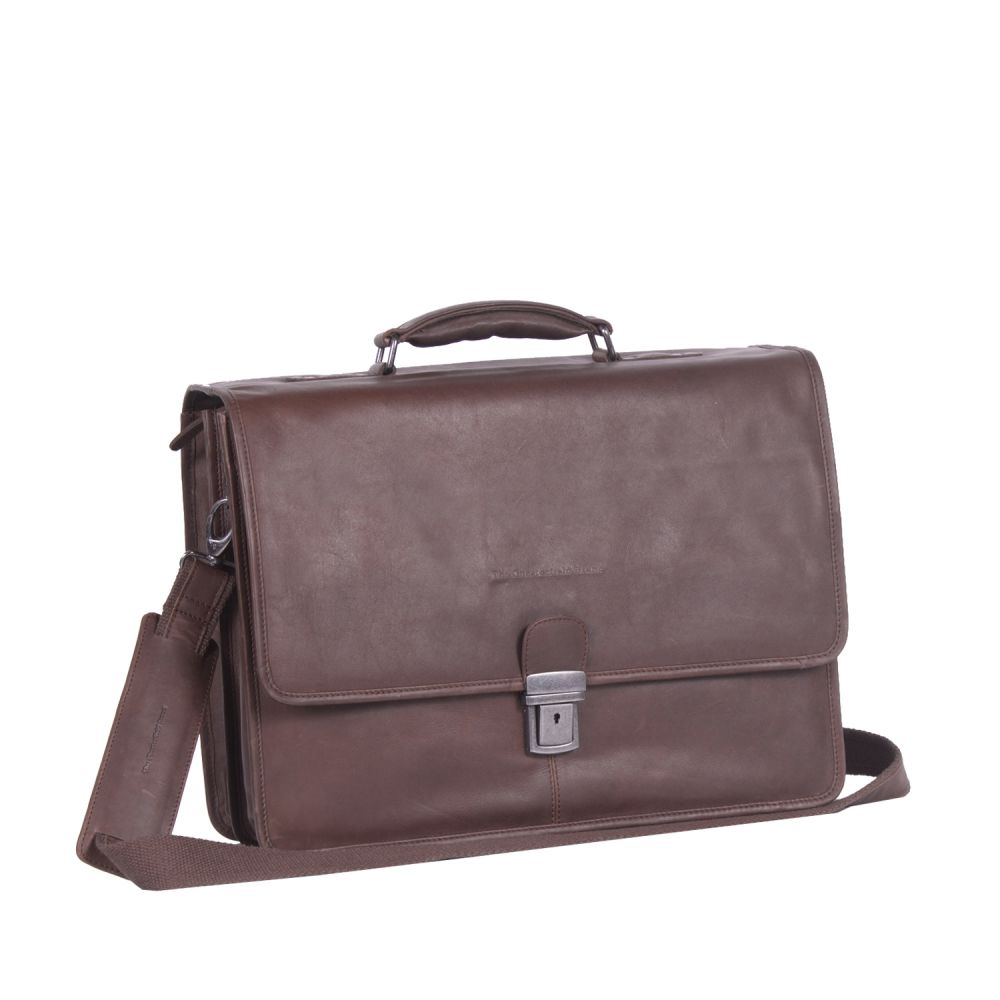 The Chesterfield Brand Shay Laptoptasche Brown Laptoptasche