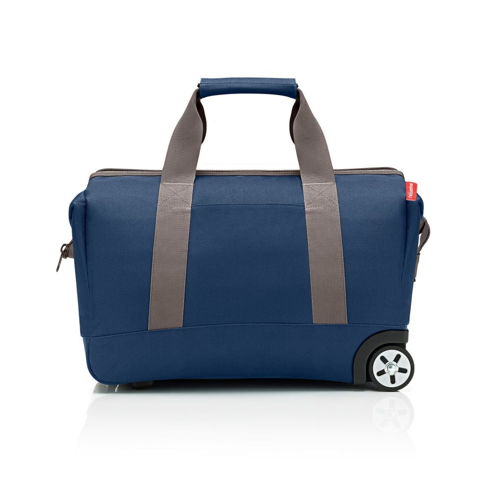 Reisenthel Allrounder Trolley Dark Blue mit Rollen Handgepäck/Koffer/Weichgepäck