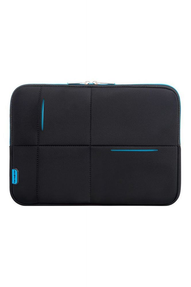 Samsonite Airglow Sleeves Laptop Sleeve New 14.1 Black/Blue Laptoptasche/Sleeve/Weichgepäck