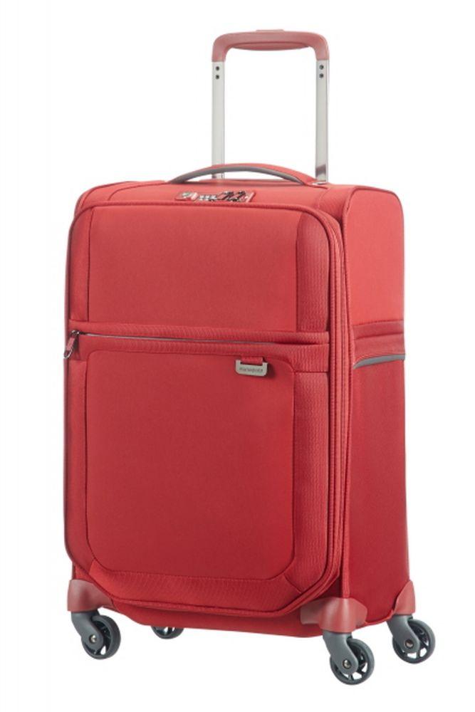 Samsonite Uplite Handgepäckspinner 55cm EXP Red 747581726 Koffer mit 4 Rollen Handgepäck