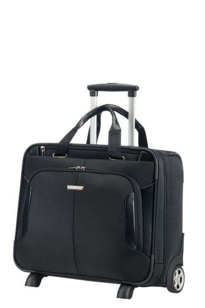 Samsonite XBR Business Case/Wh 15.6 Black Koffer mit 2 Rollen Businesstrolley