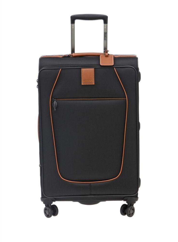 Stratic Original Stratic Trolley-M-4DR EW TSA QR EA black Koffer mit 4 Rollen Hüfttasche/Koffer