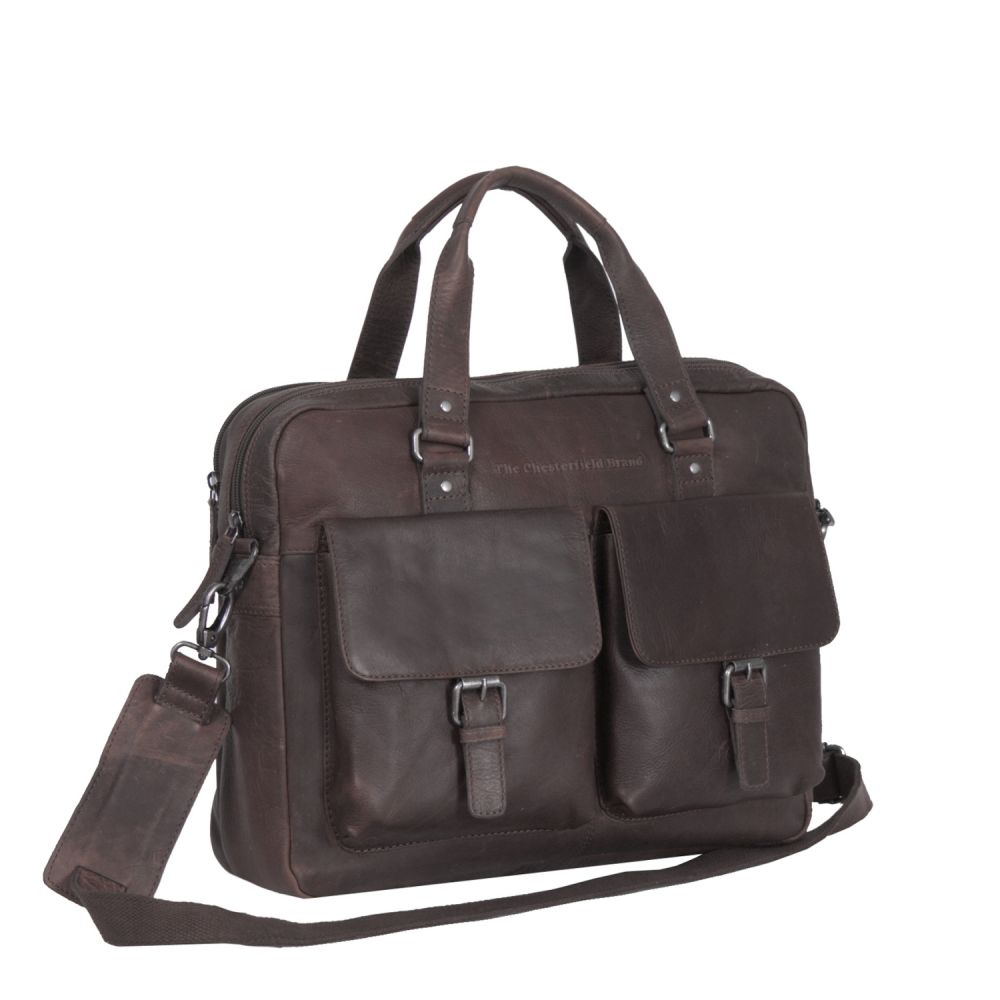 The Chesterfield Brand Laptoptasche Brown Laptoptasche