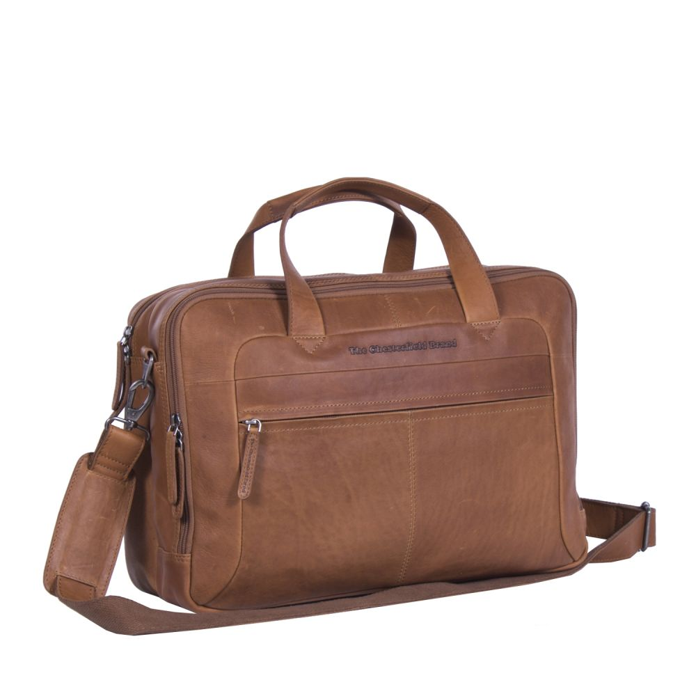 The Chesterfield Brand Ryan Laptoptasche cognac Laptoptasche