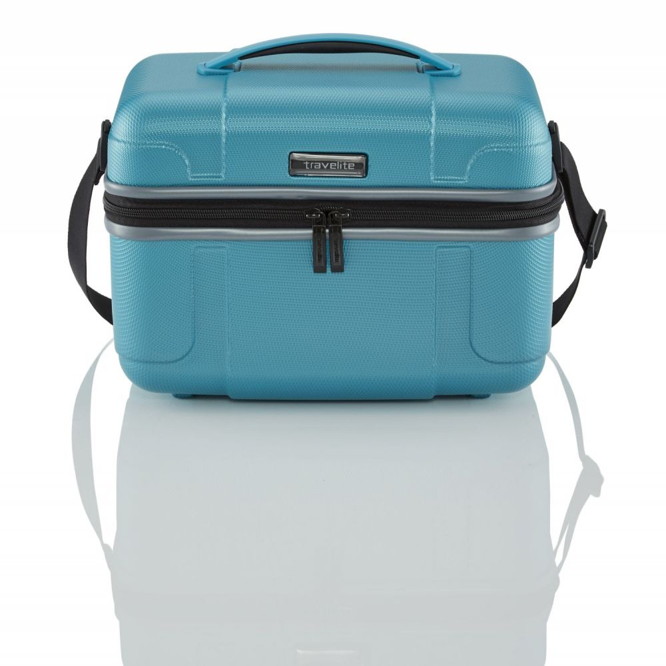 Travelite Vector Beauty Case Türkis 72003-21 Beauty Case/Beauty Case/Beauty Cases