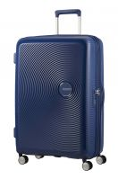 American Tourister Soundbox Spinner 77/28 TSA EXP Midnight Navy