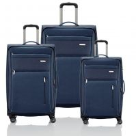 Travelite Capri Kofferset 4w L erw./M erw./S, Bordtasche, marine