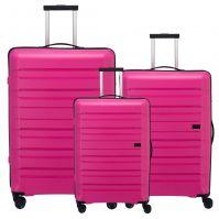 Travelite Kosmos Kofferset 3-teilig pink