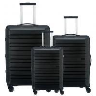 Travelite Kosmos Kofferset 3-teilig schwarz