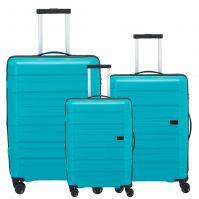 Travelite Kosmos Kofferset 3-teilig aqua