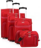 Travelite Orlando Kofferset 4-tlg. Rot