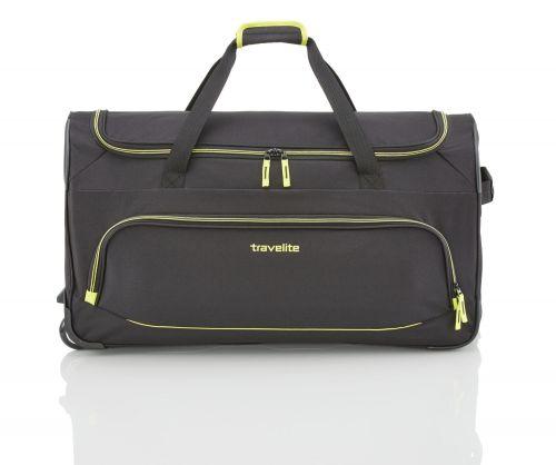 Travelite Basics Fresh Trolley Reisetasche schwarz  Vorschaubild #1