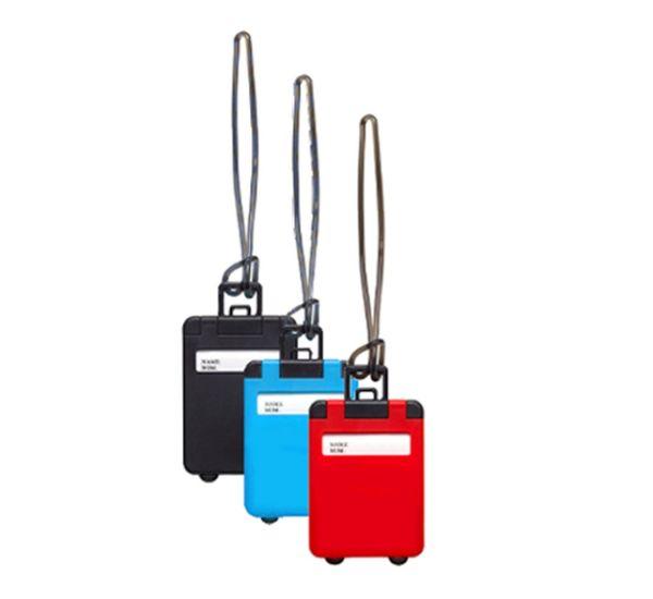 Kofferanhänger Set 3tlg. Bunt