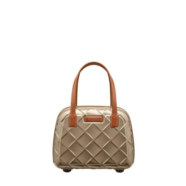 Stratic Leather & More Beauty Case chamapgne