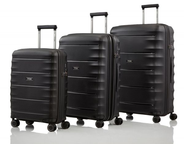 Titan Highlight Kofferset 3-teilig black