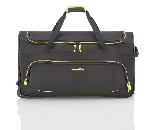 Travelite Basics Fresh Trolley Reisetasche schwarz