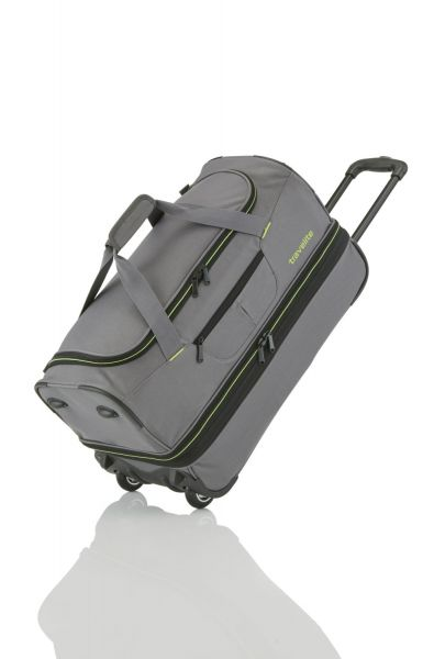 Travelite Basics Trolley Reisetasche L erw. grau