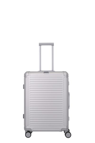Travelite Next 4w trolley S Silber