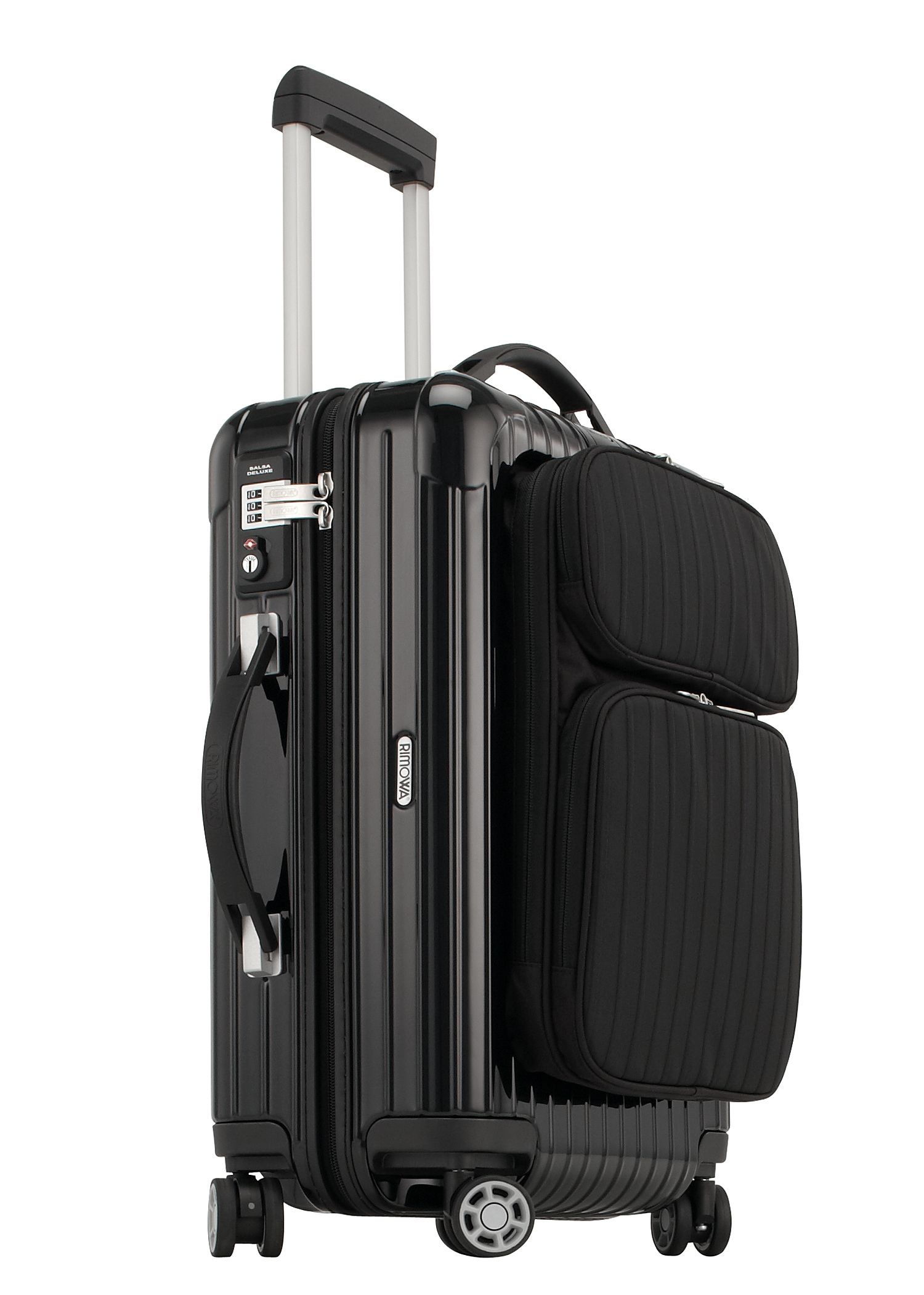 rimowa salsa deluxe hybrid cabin multiwheel iata 52 schwarz koffer trolleys. Black Bedroom Furniture Sets. Home Design Ideas