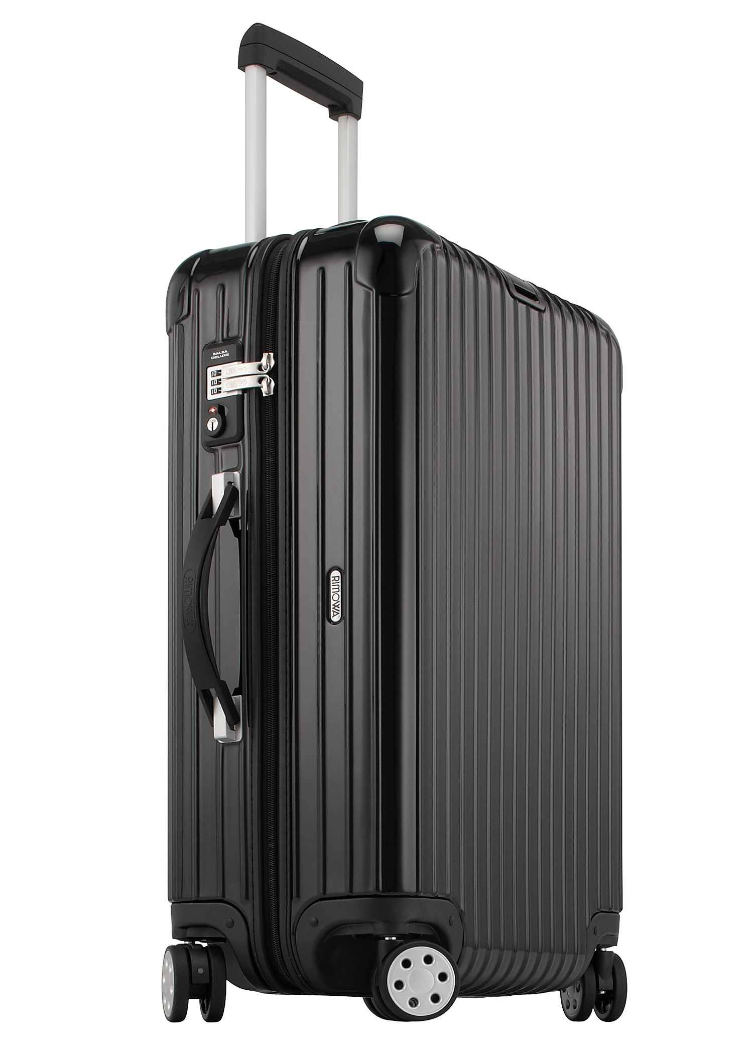 rimowa salsa deluxe multiwheel trolley 63 schwarz kofferexpress 24. Black Bedroom Furniture Sets. Home Design Ideas