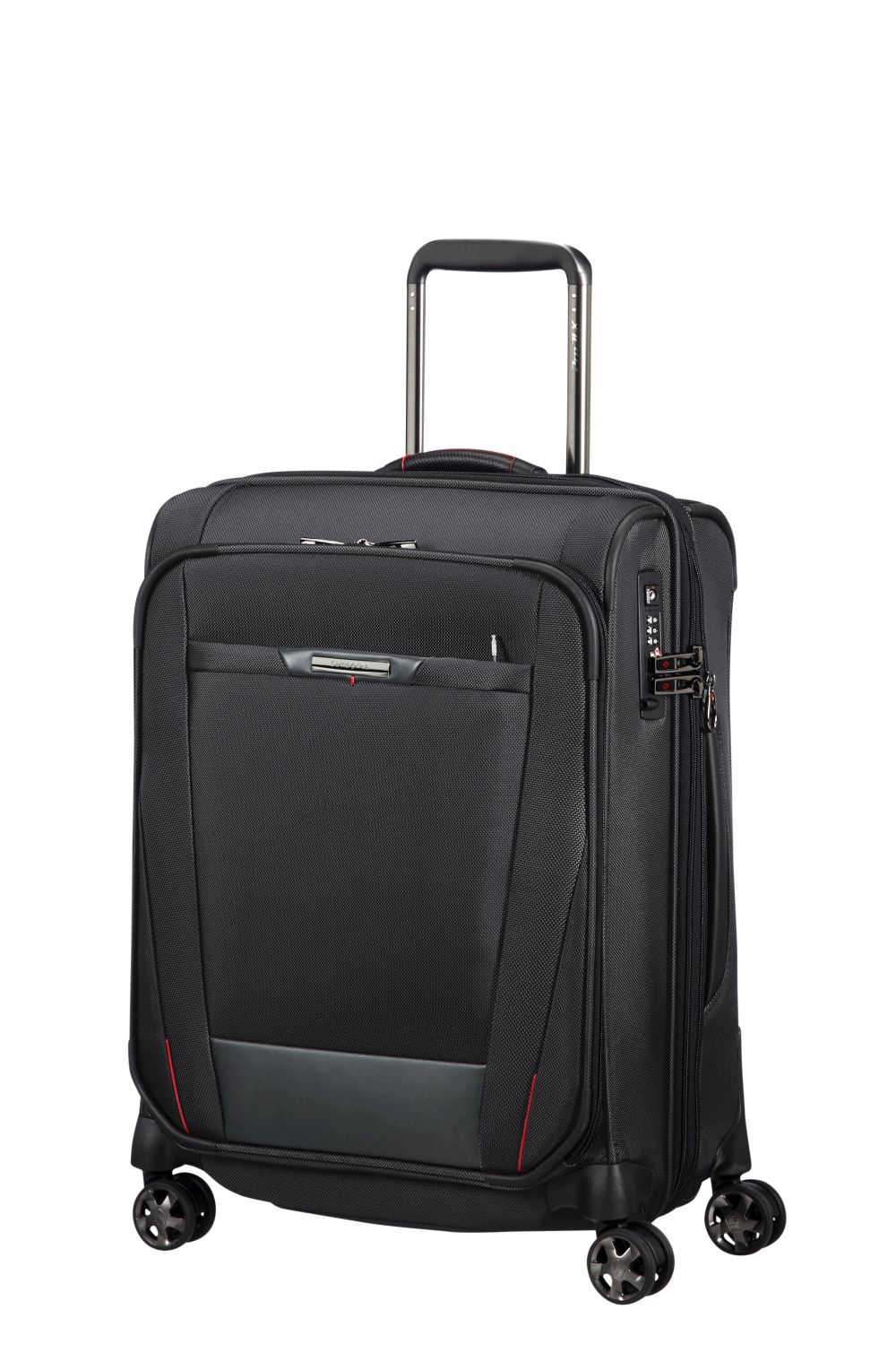 samsonite pro dlx 5 spinner 55 20 exp black kofferexpress 24. Black Bedroom Furniture Sets. Home Design Ideas