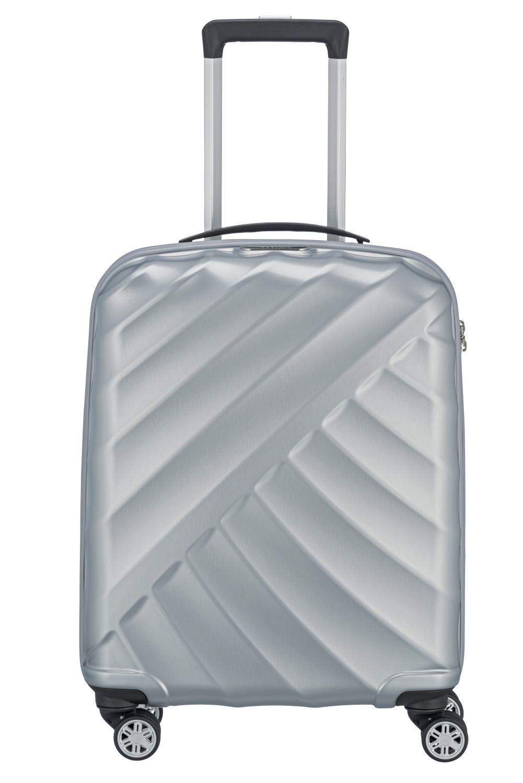 titan shooting star 4w trolley s silver kofferexpress 24. Black Bedroom Furniture Sets. Home Design Ideas