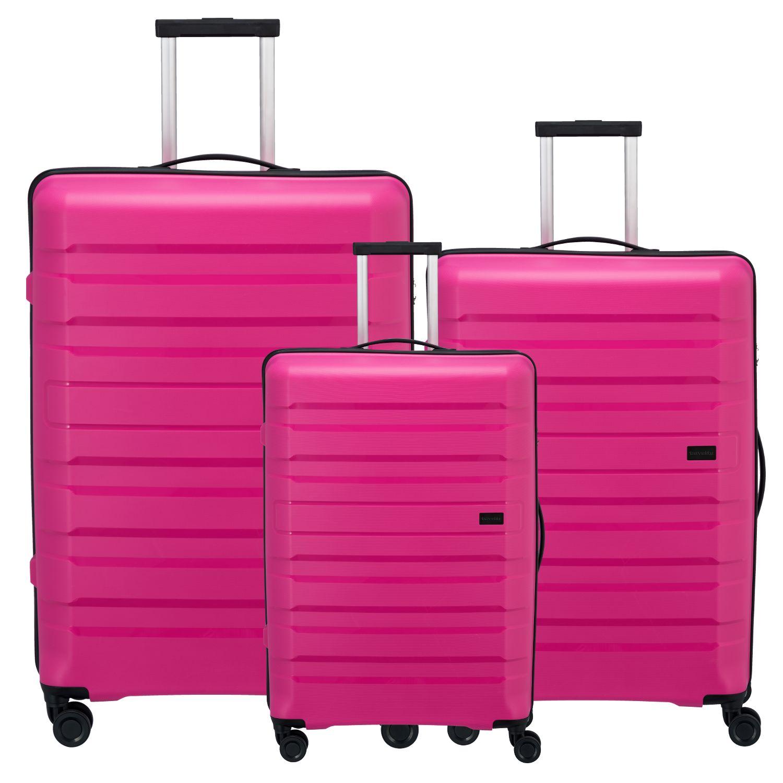 travelite kosmos kofferset 3 teilig pink kofferexpress 24. Black Bedroom Furniture Sets. Home Design Ideas