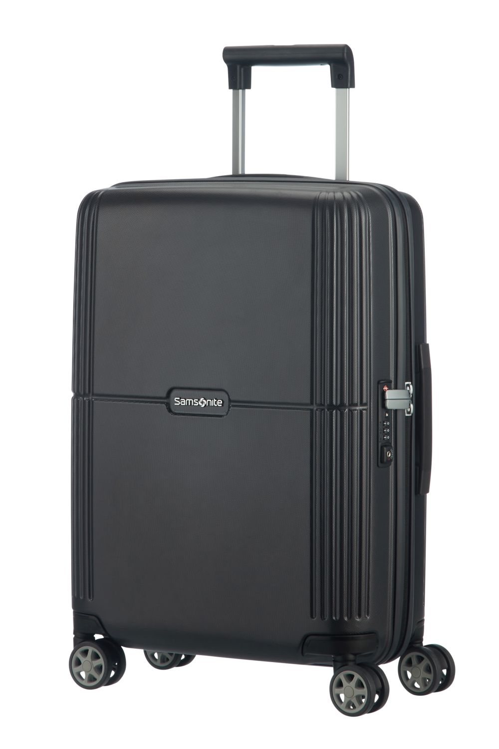 samsonite orfeo spinner 55 20 ink black kofferexpress 24. Black Bedroom Furniture Sets. Home Design Ideas