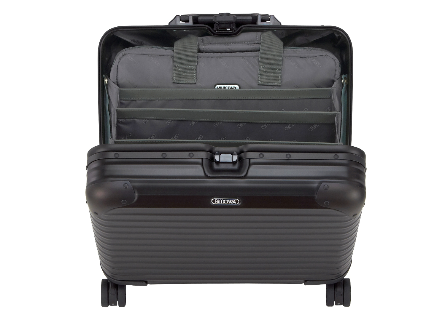 rimowa topas stealth business multiwheel trolley 40 kofferexpress 24. Black Bedroom Furniture Sets. Home Design Ideas