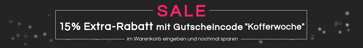 Kofferwoche 15%